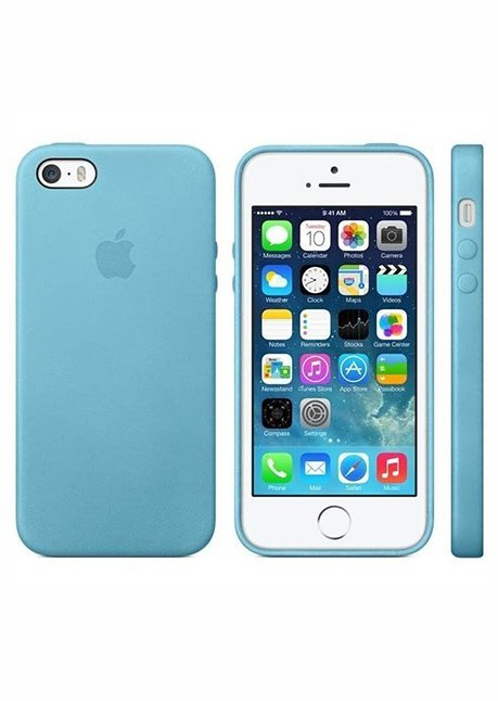 MF044LL/A IPHONE 5S LEATHER COVER BLUE