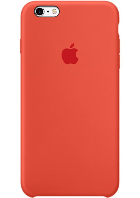 MKY62ZM/A IPHONE 6S SILICONE COVER ORANGE