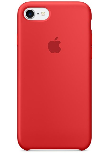 MMWN2ZM/A IPHONE 7 SILICONE COVER RED