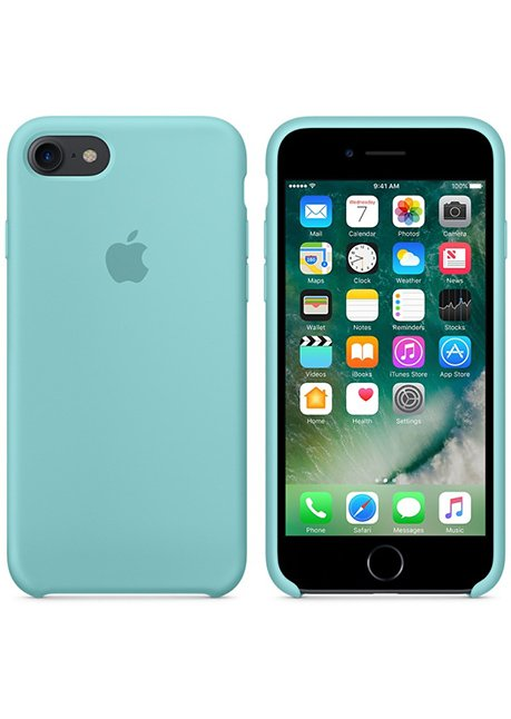 MMXO2ZM/A IPHONE 7 SILICONE COVER SEA BLUE
