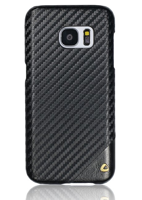 Carbon Back cover for Galaxy S7 Black