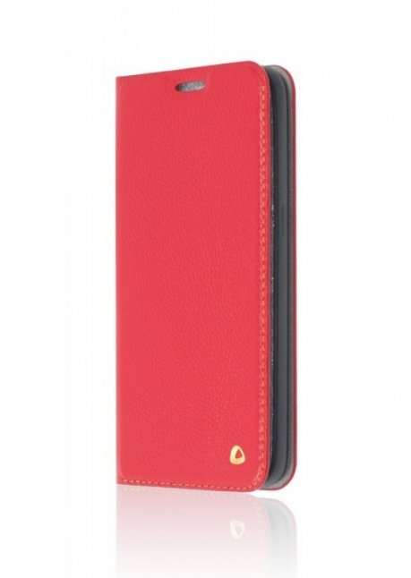 Flip cover Jacket for iPhone 5 Red
