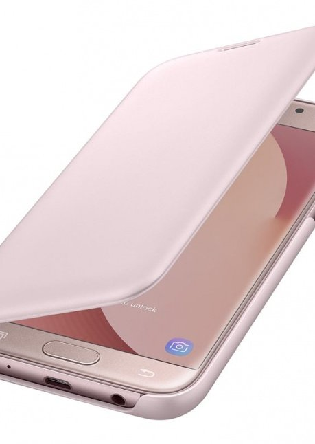 WJ530CPEG Flip cover for Galaxy J5 (2017) J530 Pink