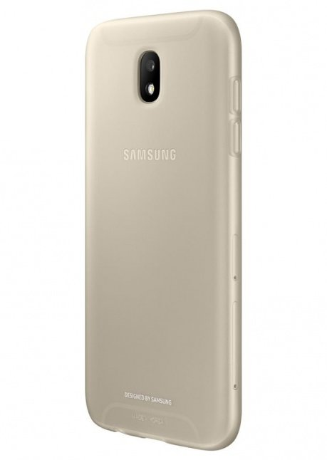 AJ530TFEG Jelly Cover for Galaxy J5 (2017) Gold