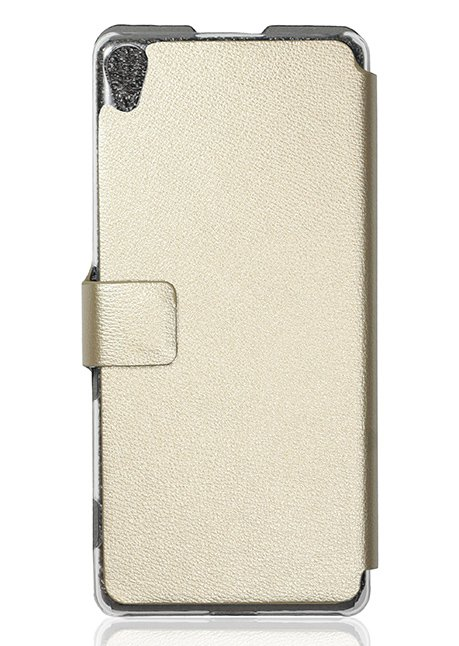 Slim Flip cover for Xperia XA F3111 Gold