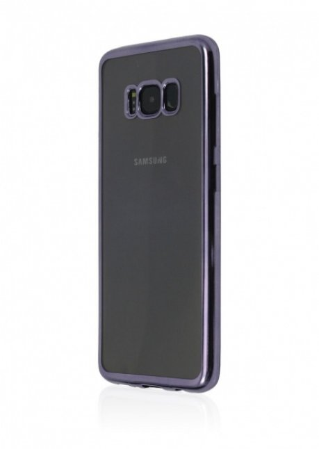 Mirror Back Cover for Samsung Galaxy S8 Violet