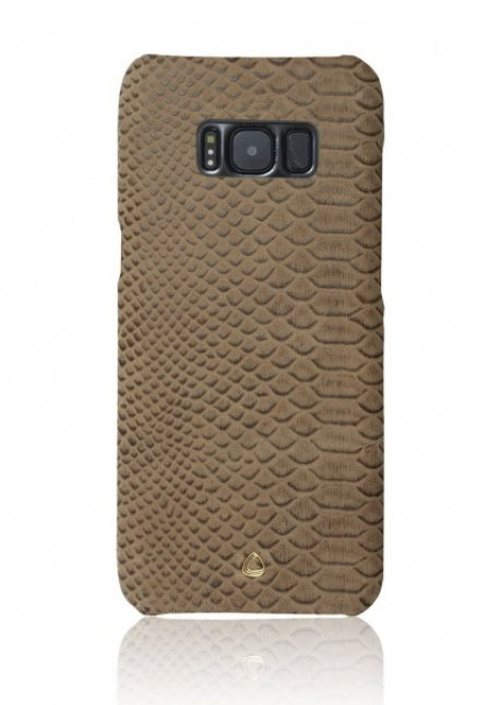 Back cover Wild for Galaxy S8 Khaki