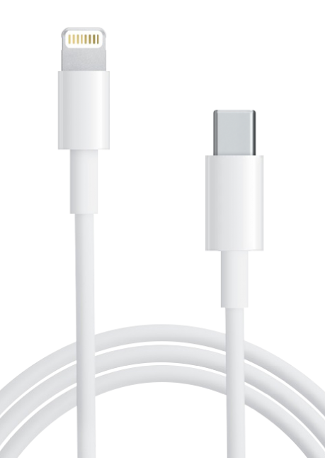 MK0X2ZM/A USB-C to Lightning cable 1m White