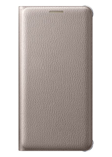 WA310PFEG Flip Wallet (PU) for Galaxy A3 (2016) A310 Gold